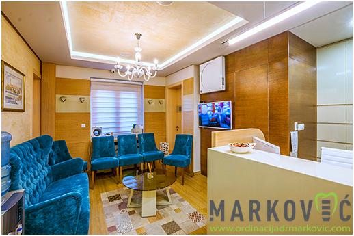 Ordinacija dr Marković - čekaonica 2